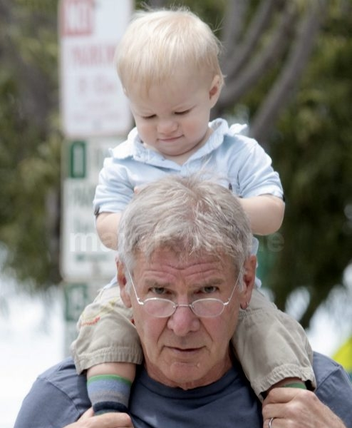 Harrison Ford and Grandson_6_7_11_100