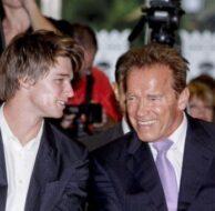Arnold And Patrick Schwarzenegger Madrid_10_7_11_01
