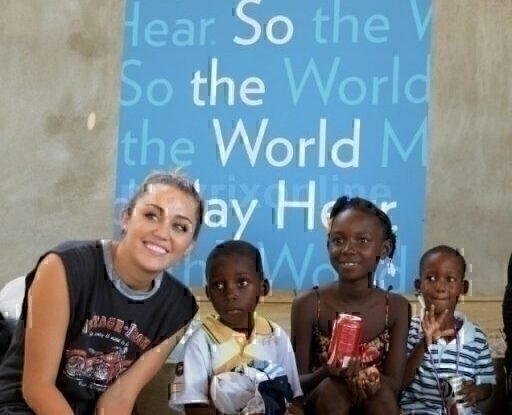 Miley Cyrus Brings Hearing To Haiti_10_12_11_02