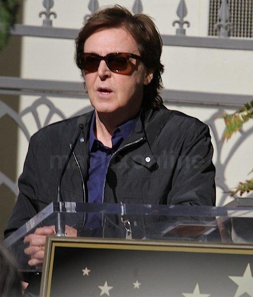 Paul McCartney Hollywood Star_02_09_12_01