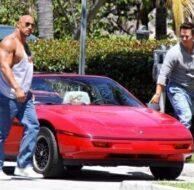 Mark Wahlberg the Rock Dwayne Johnson