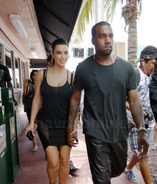Kim Kardashian,Kanye West