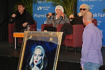 Debbie Harry With Portrait
