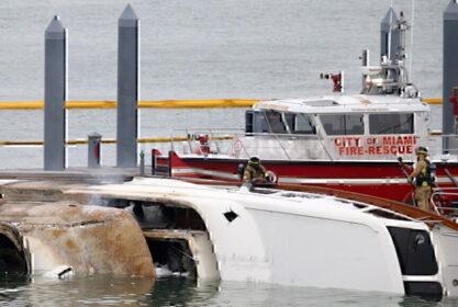 Marc Anthony Sunken Yacht