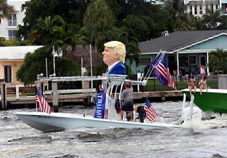 Trump Fort Lauderdale Flotilla 2020