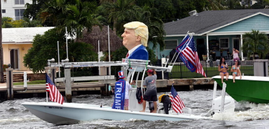Trump Flotilla Ft Lauderdale