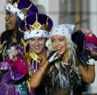 Christina Aguilera Mardi Gras