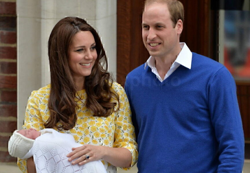 New Princess Leaves Hospital