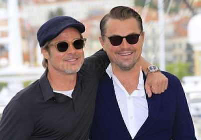 Brad And Leo At Cannes