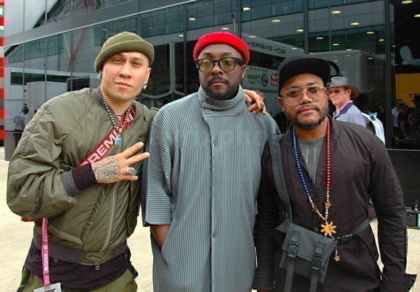 Black Eyed Peas At Silverstone