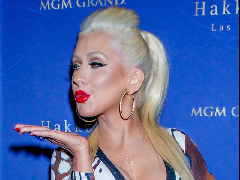 Christina Aguilera Hakkasan